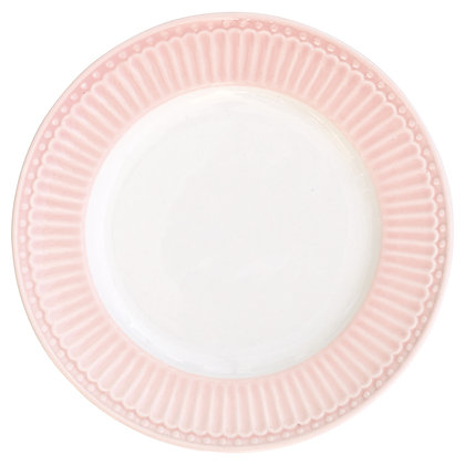 Small Plate Alice pale pink