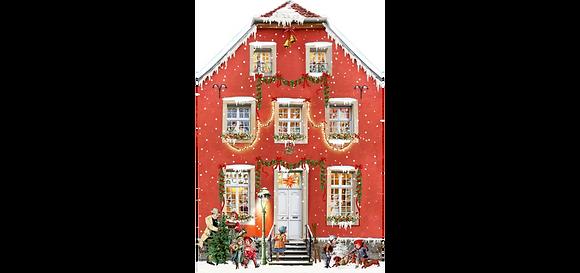 Adventkalender, Weihnachten bei uns Zuhaus