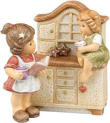 Spieluhr In der Küche wird gebacken