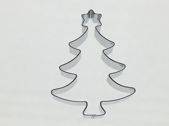 Keksausstecher Baum mit Stern