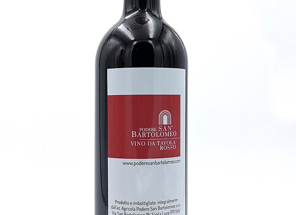 RED table wine Podere San Bartolomeo