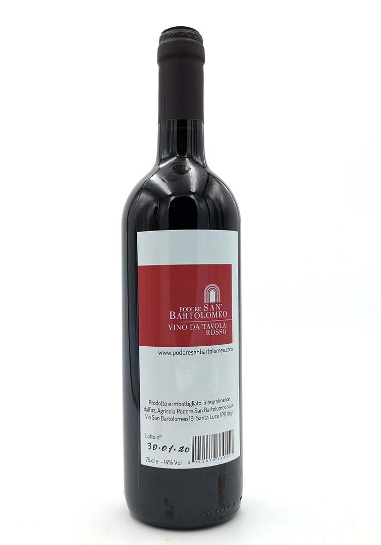 Vino rosso senza solfiti