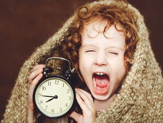 Cambio de horario...¿y el sueño de mis hijos?