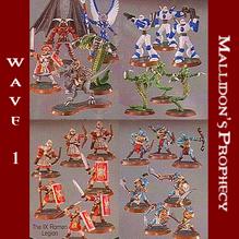 Wave 1 - Mallidon's Prophecy