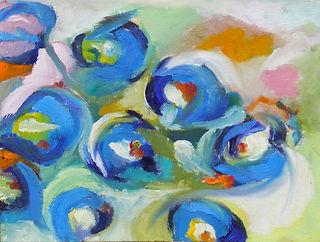 Blue Carnations Study.JPG