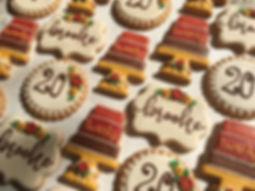 decorated sugar cookies, decorated cookies, custom cookies, creative confections by heather, lynchburg va, lynchburg baker, custom order bakery, fall cookies, birthday cookie set