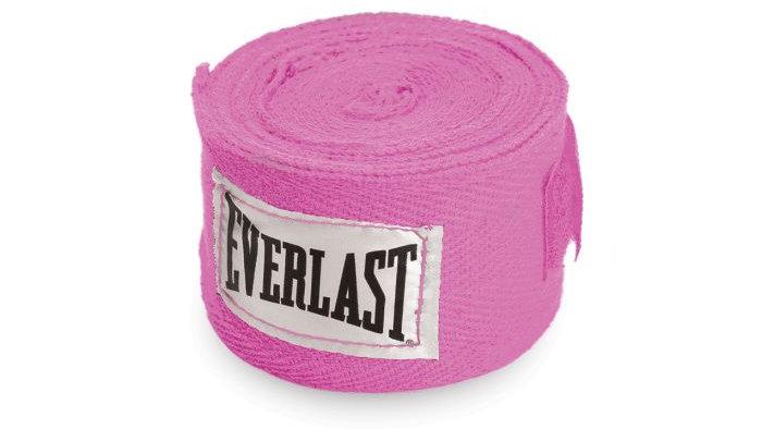 """Everlast 120"""" HandWraps Pink"""