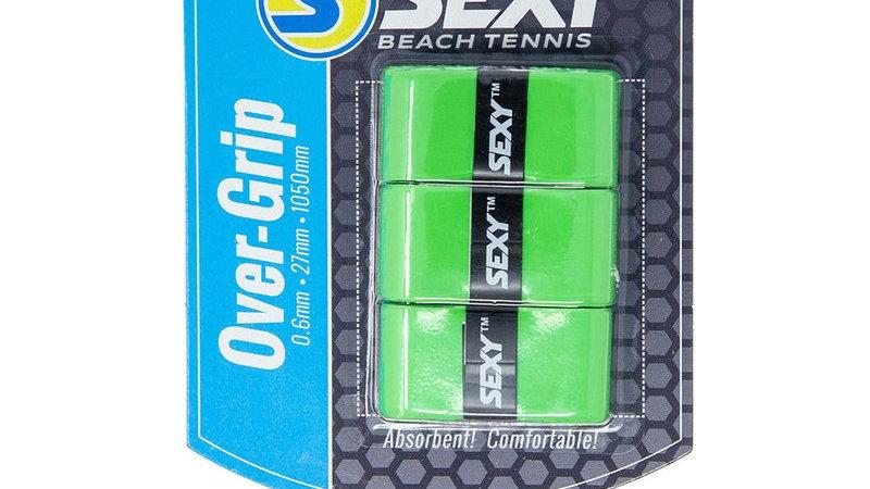 SexyBrand Beach Tennis Grips GREEN - 3 PACK