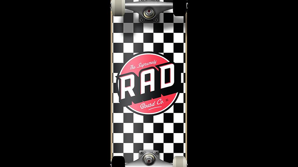 Rad Checker Black White 8.0