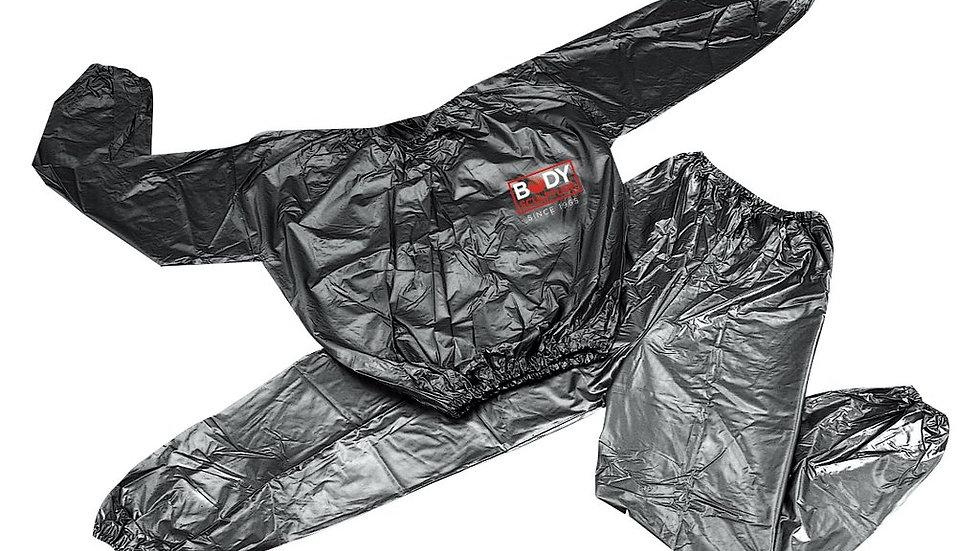 L / XL Body Sculpture Sauna Suit Black