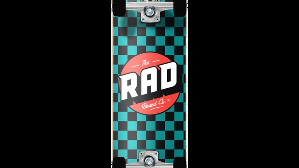 Rad Checker Teal 7.2