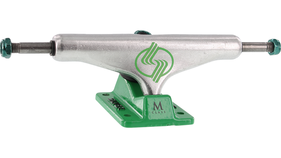 Silver M-Hollow Green/Silver 7.75