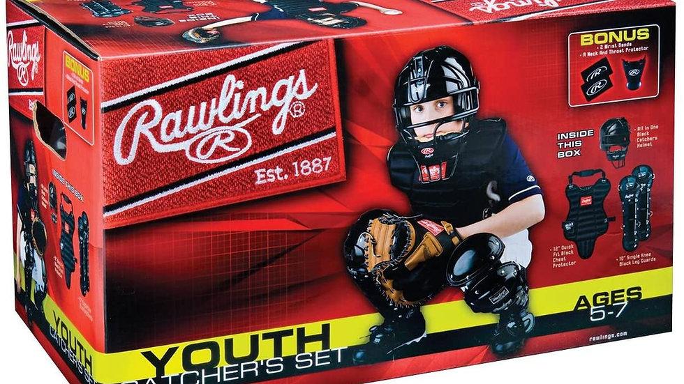 Rawlings Youth Catchers set age 5-7