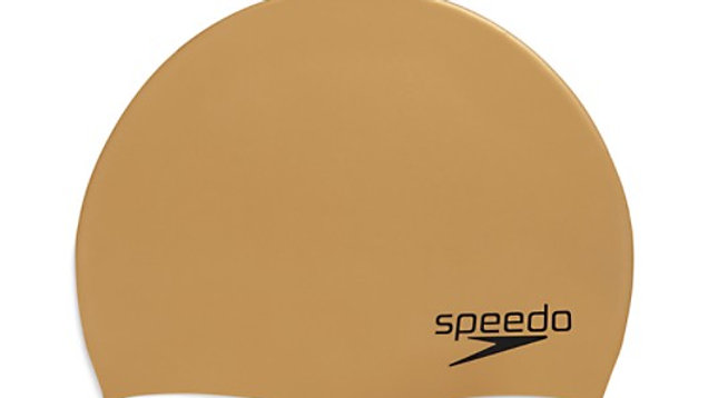 Speedo Elastomeric Solid Cap Gold one-size