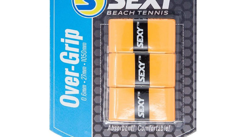 SexyBrand Beach Tennis Grips ORANGE- 3 PACK