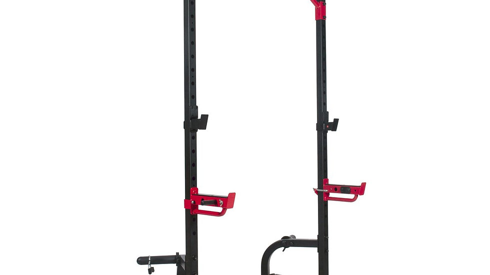 Sunny Health Power Zone Squat Stand 805lb weight capacity