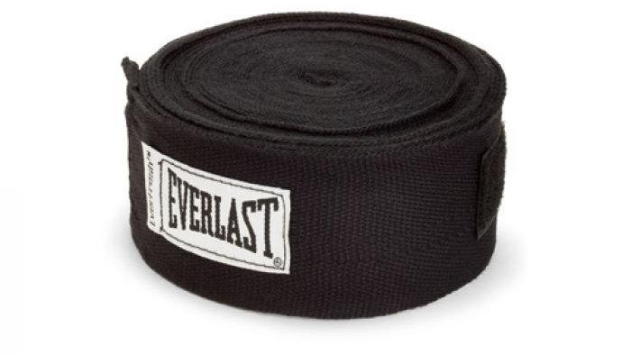 "Everlast 180"" HandWraps Black"