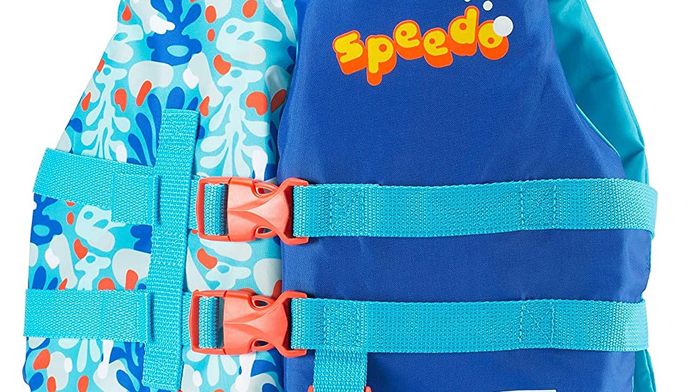 Speedo Boys Lifejacket Blue