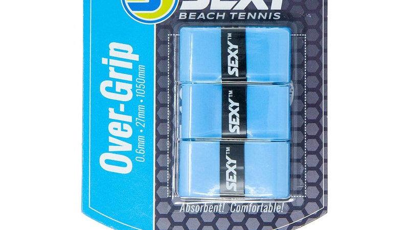 SexyBrand Beach Tennis Grips SKYBLUE - 3 PACK