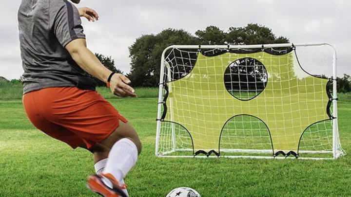 ChampionSport 3 in 1 Trainer Soccer Goal Set
