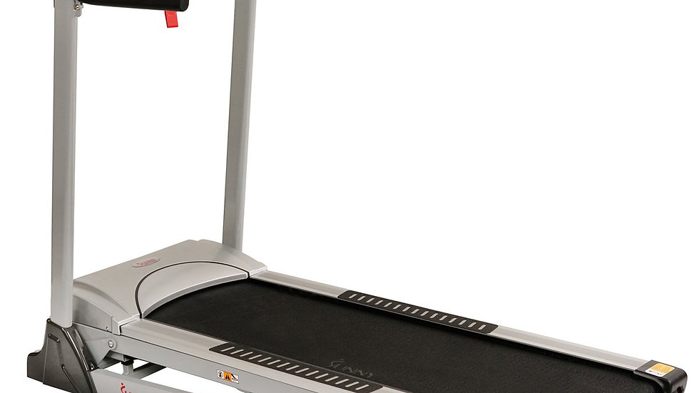 Sunny Health Treadmill, 285LB w/ Auto Incline, MP3, Body Fat Function