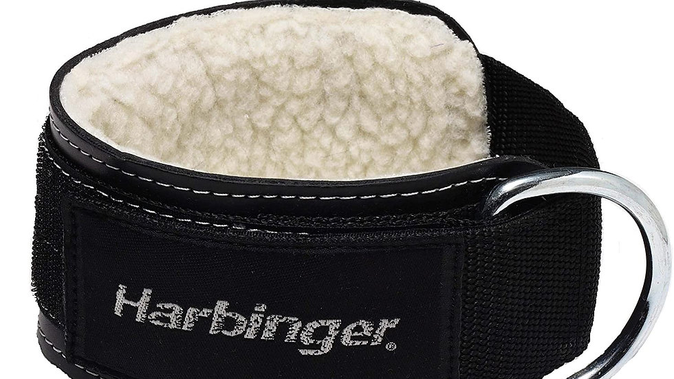 Harbinger Padded 3-Inch Ankle Cuff with Double Ring