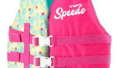 Speedo Girls Lifejacket Pink