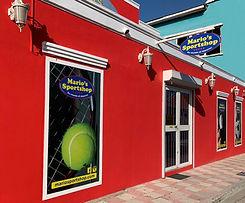 mario's sport shop store front
