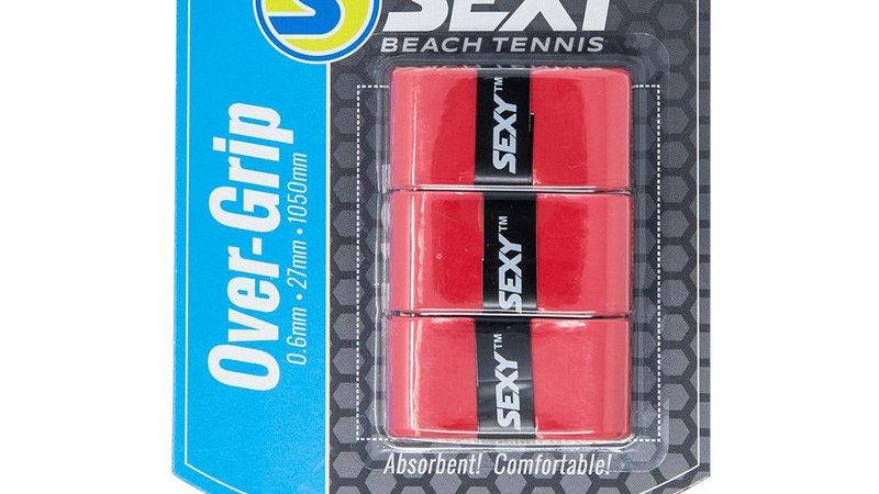 SexyBrand Beach Tennis Grips RED - 3 PACK