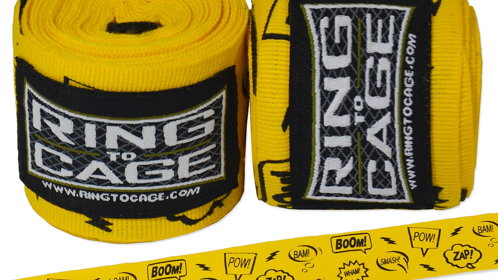 """Ring 2 Cage 180"""" Handwraps Fight Sounds"""