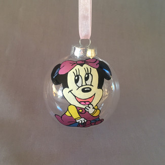 Minnie Mouse Baby Bauble