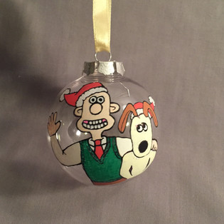 Wallace and Gromit Bauble