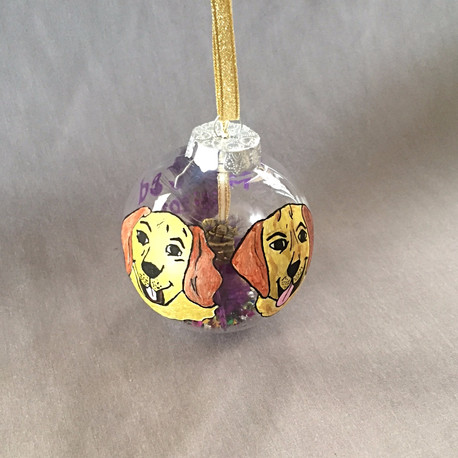 Family Dogs Bauble