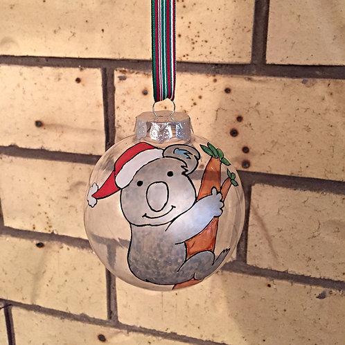 koala Australian animal Christmas bauble decoration