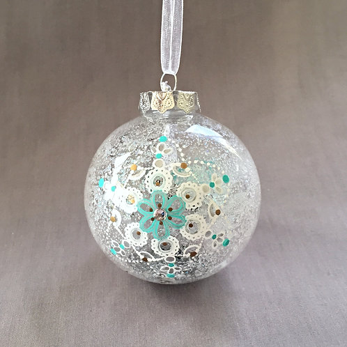 snowflake star Christmas bauble