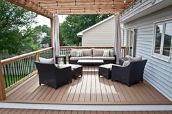 Furnished Trex Composite Deck