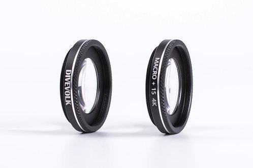 Underwater Macro Lens 37mm (2 x +15)