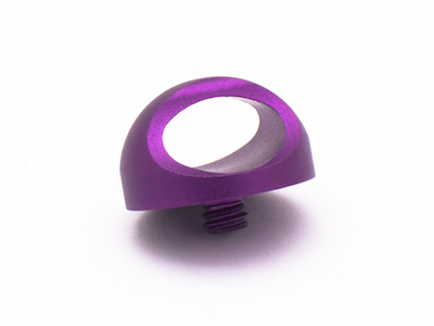 Ring in purple
