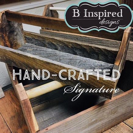 Reclaimed Wood Tool Boxes