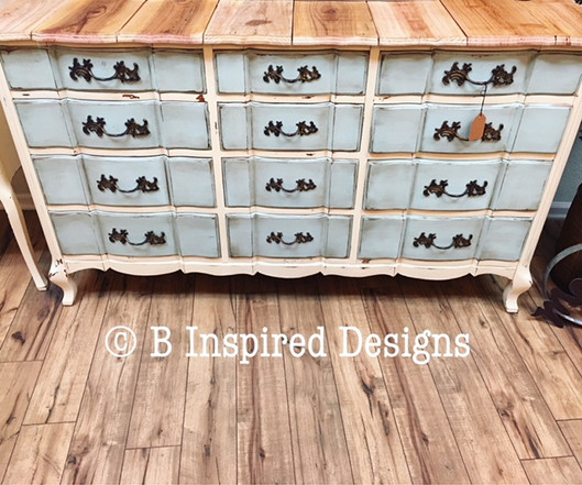 Dresser with Signature Reclaimed Wood Top