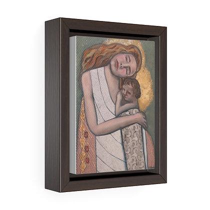 Treasured - Vertical Framed Premium Gallery Wrap Canvas