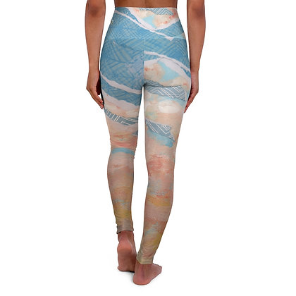 "High Waisted Yoga Leggings - ""Ripped"""