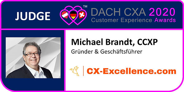 Juges Banner DACH CXA 2020, Michael Bran