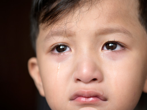 The courage to cry