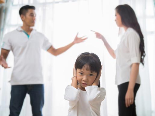 How parental argument affects children