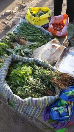 Toxin free vegetable market
