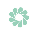 Conscious Spiraling Full Logo with teal Map Pins