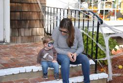Bryce (Ed's nephew) and Susan (Ed's sister)