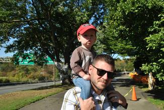 Bryce (Ed's nephew) and Gerald