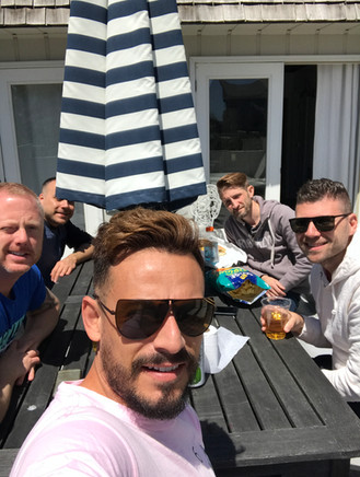 Fabio, Shawn, Carlos, Gerald, and Ed